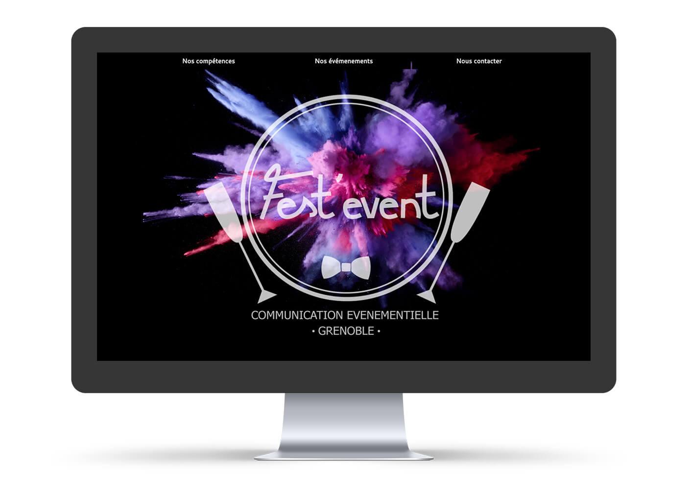 développement site web festevent