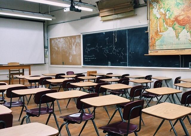 salle de classe au lycée