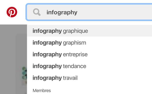recherche exemple infographie sur pinterest