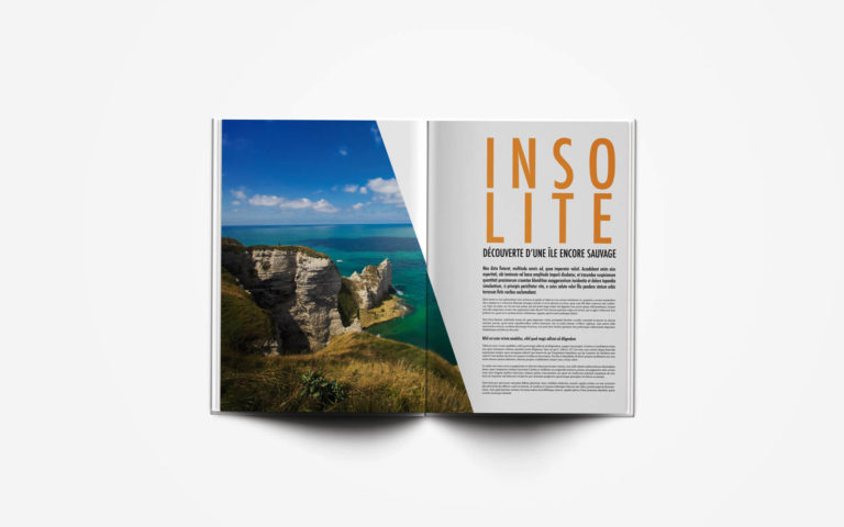 magazine indesign